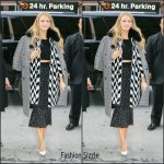Blake Lively  In Michael Kors – Out In New York