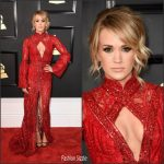 Carrie Underwood In  Elie Madi  At The 2017 Grammy Awards