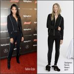 Chanel Iman  In Designers Remix  – Rolling Stone Live : Superbowl 2017 Houston Event