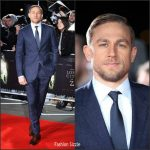 "Charlie Hunnam In Burberry – "" Lost City Of Z""  London Premiere"