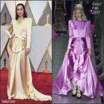 Dakota Johnson In Gucci –  2017 Academy Awards