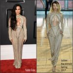 Demi Lovato In  Julien Macdonald  – 2017 Grammy Awards