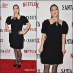 Drew Barrymore In Marni  At  Netflix's 'Santa Clarita Diet' Premiere