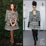 Ella Purnell  In Chanel – Charles Finch & Chanel Pre BAFTA Party