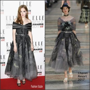 ellie-bamber-in-chanel-elle-style-awards-700×700