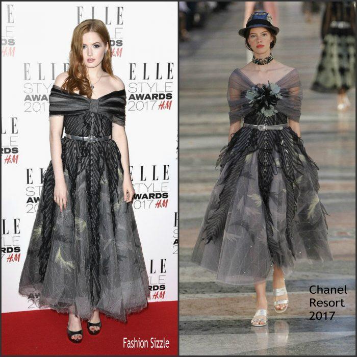 ellie-bamber-in-chanel-elle-style-awards-700×700