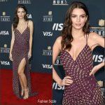 Emily Ratajkowski  In Kayat  At The 6th Annual NFL Honors