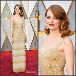 Emma Stone  In  Givenchy   – 2017 Academy Awards