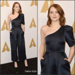 Emma Stone  In Stella McCartney – 2017 Academy Awards Nominee Luncheon