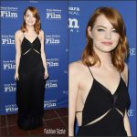 Emma Stone  In Stella McCartney –    SBIFF Outstanding Performers of the Year Award 2017