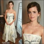 Emma Watson  In Christian Dior- Elle  Style Awards 2017
