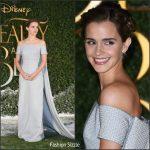 Emma Watson In Emilia Wickstead – Beauty And The Beast London Premiere
