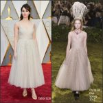 Felicity Jones  In Christian Dior  – 2017 Academy Awards