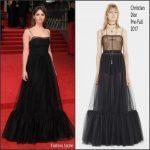 Felicity Jones In Christian Dior – 2017 BAFTAs