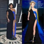 Gabrielle Union  In John Paul Gaultier – 2017 Vanity Fair Oscar Party