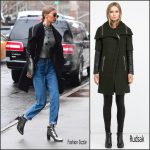Gigi Hadid In  Rudsak Coat – Out In New York