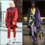 Gwen Stefani  In Moschino Out In LA