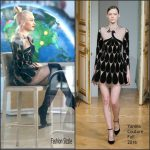 Gwen Stefani  In Yanina Couture – Today Show