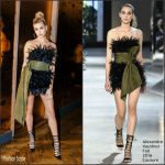 Hailey Baldwin  In Alexandre Vauthier – Teen Vogue's Volume One Launch