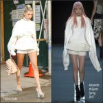 Hailey Baldwin  In Vera Wang – Out In NewYork