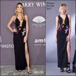 Heidi Klum  In Versace  – 2017 amfAR New York Gala