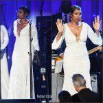 Jennifer Hudson In Jovani –  Clive Davis' Pre-Grammy 2017  Event