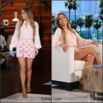 Jennifer Lopez In Michael Kors & Balmain At The Ellen DeGeneres Show
