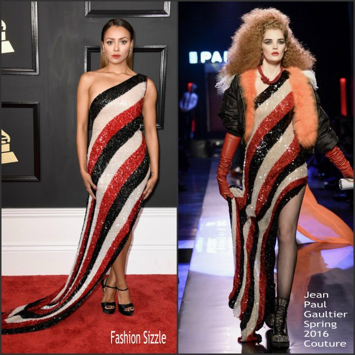 kat-graham-in-jean-paul-gaultier-2017-grammy-awards-700×700