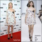 Kate Bosworth  In Giambattista Valli At InStyle EE Rising Star Party