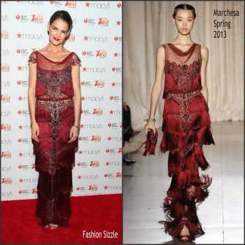 katie-holmes-in-marchesa-gored-for-women-red-dress-collection-nyfw-2017-700×700