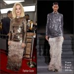 Katy Perry in  Tom Ford  – 2017 Grammy Awards
