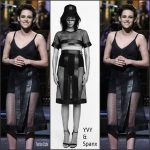 Kristen Stewart In YVY & Spank Slip – Hosting Saturday Night Live