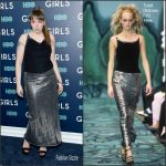 "Lena Dunham  In  Todd Oldham  At ""The Girls"" New York Premiere"