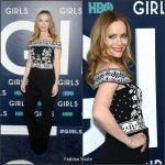 Leslie Mann In Alexander McQueen At 'Girls' Season 6 New York Premiere