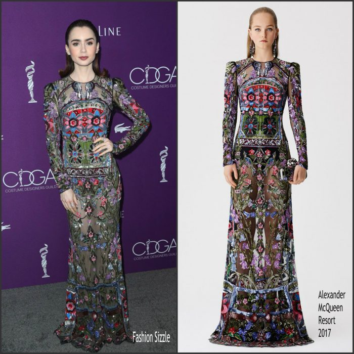 lily-collins-in-alexander-mcqueen-2017-costume-designers-guild-awards-700×700