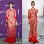 Mandy Moore  In Jenny Packham – 2017 Costume Designers Guild Awards