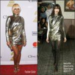 Mary J. Blige  In Wolk Morais – Clive Davis' Pre-Grammy Gala 2017