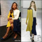 Naomie Harris In Cédric Charlier At BUILD Series LDN