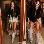 Nicki Minaj In  Francesco Scognamiglio – Instagram Pic