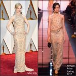 Nicole Kidman In Armani Privé –  2017 Academy Awards