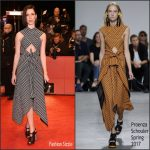 "Rebecca Hall  In Proenza Schouler – "" The Dinner"" Berlinale Film Festival  Premiere"