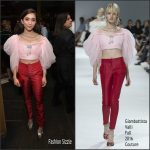 Rowan Blanchard In Giambattista Valli Couture – Vanity Fair Young Hollywood Party