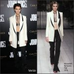 "Ruby Rose  In Alexander McQueen At The  ""John Wick: Chapter Two""  LA Premiere"