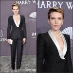 Scarlett Johansson  In Atelier Versace  –  2017 amfAR New York Gala