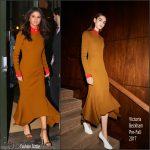 Selena Gomez  In Victoria Beckham –  New York City