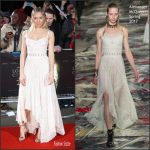 "Sienna Miller  In Alexander McQueen – "" Lost City Of Z"" London Premiere"