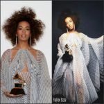 Solange Knowles  In Iris Van Herpen  – 2017 Grammy Awards