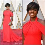 Viola Davis  In Armani Privé  – 2017 Academy Awards