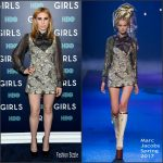 "Zosia Mamet  In Marc Jacos At ""The Girls"" New York Premiere"
