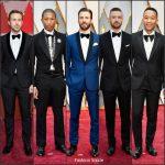 2017 Academy Awards Menswear Redcarpet